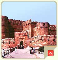 Agra Fort, Tourist Attractions in Agra